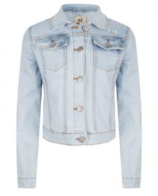 Indian blue denim jacket