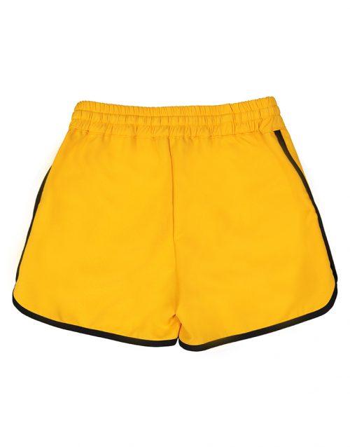 FL19317 Keira Short 95 Orange Back