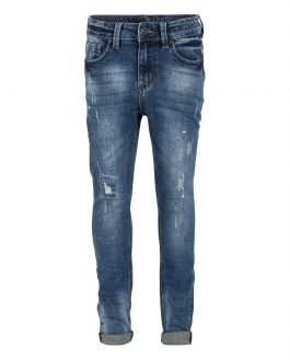 Indian Blue Jay tapered jeans