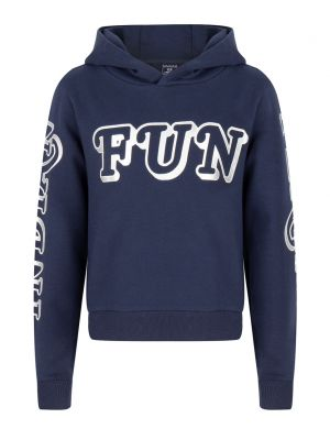 Indian Blue hooded sweat fun