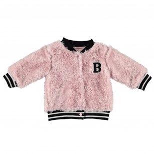 Bess cardigan teddy pink