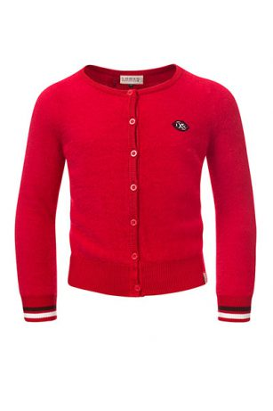 Looxs knitted cardigan cherry