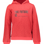 Geisha hooded sweat 'the future is'