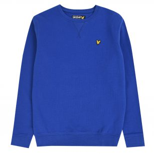 Lyle & Scott classic crewneck fleece surf the web