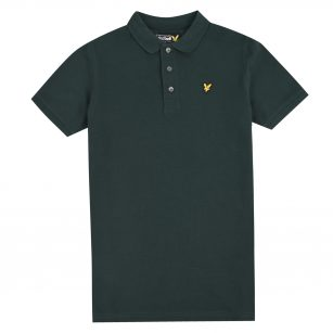 Lyle & Scott classic polo shirt true black