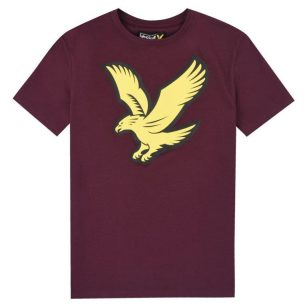 Lyle & Scotte Eagle logo shirt
