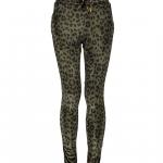Geisha pants leopard velvet