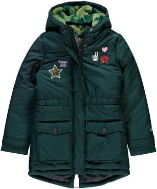 Quapi jacket Talinda dark green