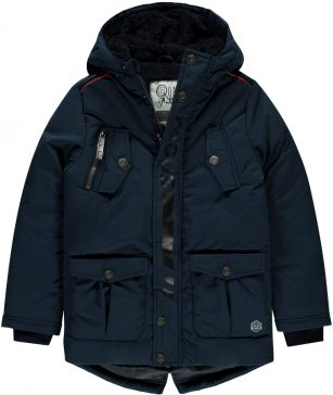 Quapi jacket Thorben dark blue