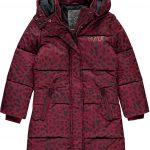 Quapi jacket Tulia bordeaux leopard