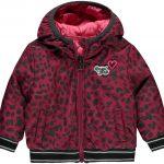 Quapi reversible jacket Vallie bordeaux leopard