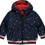 Quapi  reversible jacket Vana dark navy stars
