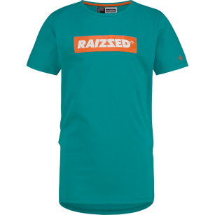 Raizzed shirt Hong Kong green blue