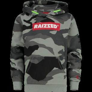 Raizzed hoodie New York camouflage green
