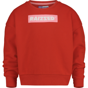 Raizzed sweater Nairobi flame red
