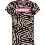 Raizzed shirt Honolulu zebra AOP