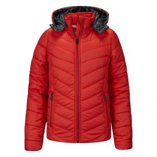 Retour jacket Clara poppy red