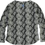 Quapi shirt Tara dark snake