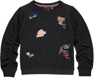 Quapi sweater Taya dark grey
