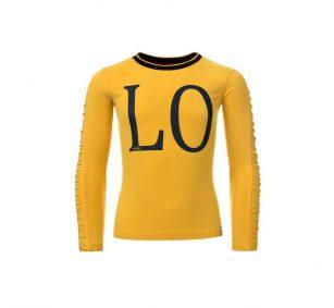 Looxs Love shirt geel