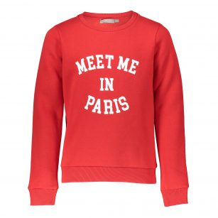 Geisha sweater red Paris