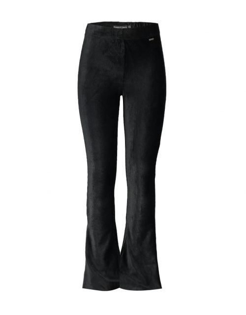 FL19909-Malou Flare Pant -Front-Black
