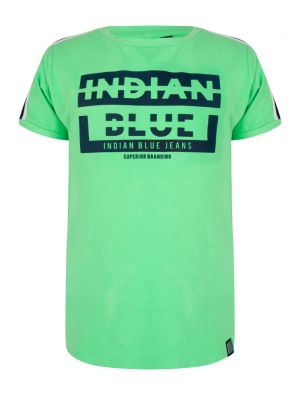 Indian Blue t-shirt ss retro