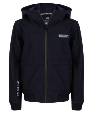 Indian Blue Hooded Jacket