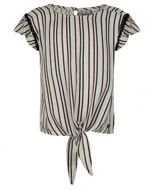 Indian blue striped shirt