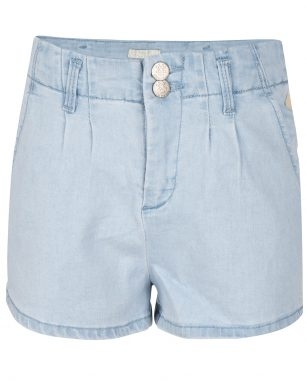indian blue denim short