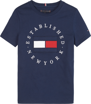 Tommy Hilfiger TH flag tee navy