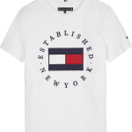 Tommy Hilfiger TH flag tee white