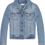 Tommy Hilfiger girls basic Trucker jeansjacket