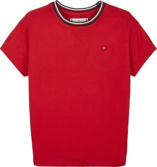 Tommy Hilfiger Essential top red