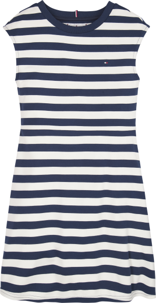 Tommy Hilfiger stripe skater dress navy/white
