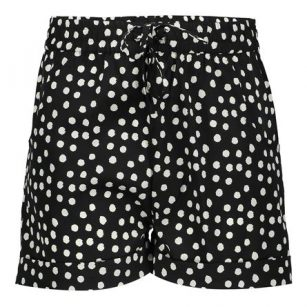 Geisha short dots black
