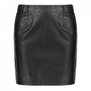 Geisha skirt PU solid black
