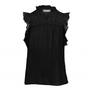 Geisha top sleeveless black