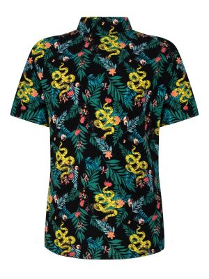 Indian blue jungle shirt