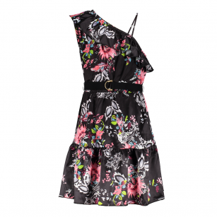 Frankie & Liberty noelle dress black flower print