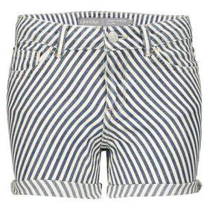 Geisha short Bias stripes