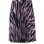 Looxs plisse rok zebra