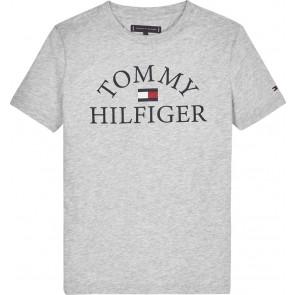 Tommy Hilfiger essential logo tee grijs