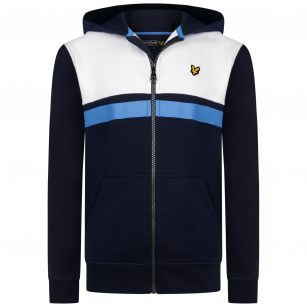 lyle & Scott Yoke zip hoodie