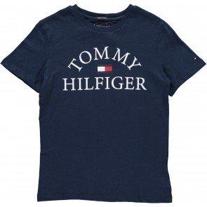 Tommy Hilfiger essential logo tee navy