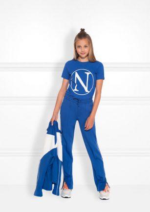 Nik & Nik Kim N tshirt kobalt