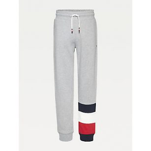 Tommy Hilfiger Global colorblock pants grey