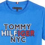 Tommy Hilfiger NYC Graphic tee kobalt