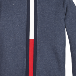 Tommy Hilfiger back insert hooded zip