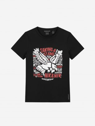 Nik & Nik Taking t-shirt zwart